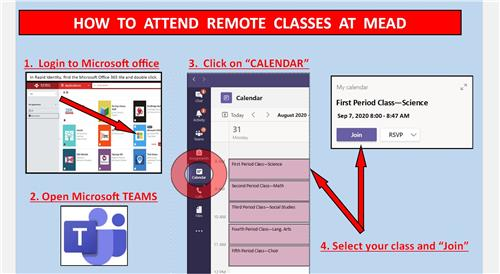 How to Attend Remote Classes at Mead