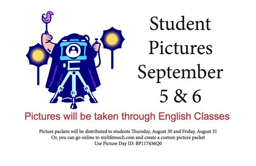 Student Pictures Sept. 5 & 6