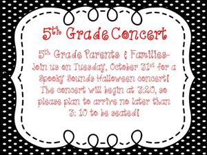 5th Grade Families