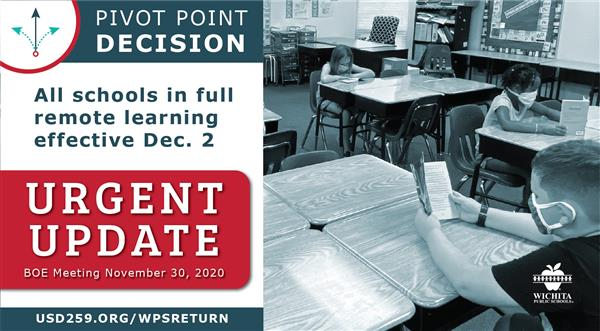 BOE votes to transition to remote learning for all grade levels effective Dec. 2