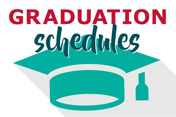 Graduation Schedules
