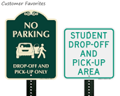 Drop off-Pick up Map