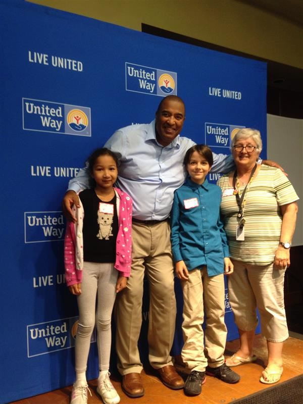 5th Graders Attend United Way Luncheon