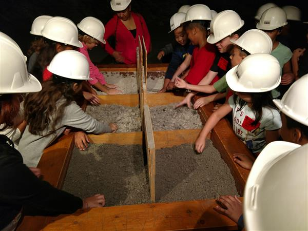 Fourth Grade Visits Salt Mine