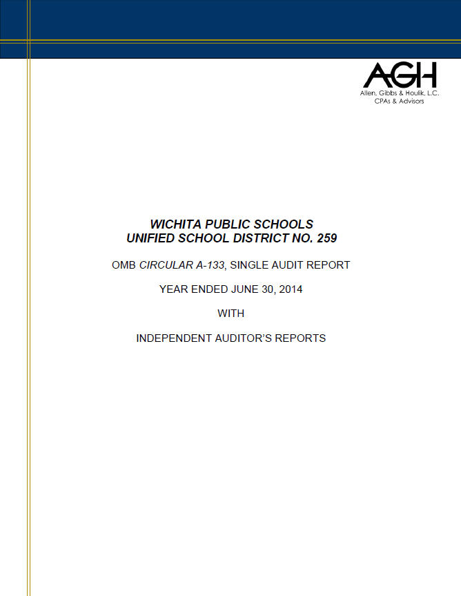 Single Audit FY14