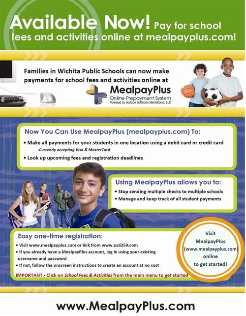 Meal Pay Plus - pay school fees and activities online