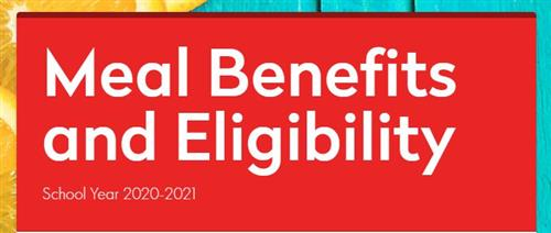 meal benefit and eligibility school year 2020-21