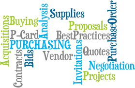 Purchasing is here to help you get the best product at the best price!