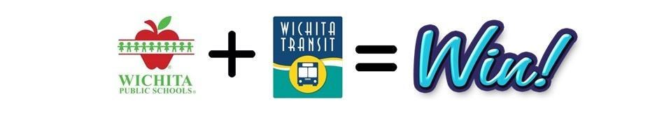 Wichita Transit Partnership for students graphic