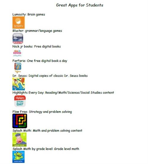 Great Apps for Students