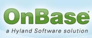 OnBase Software Logo
