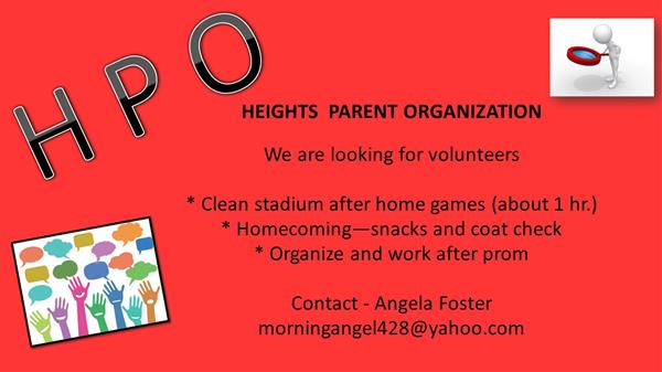 HEIGHTS PARENT ORGANIZATION