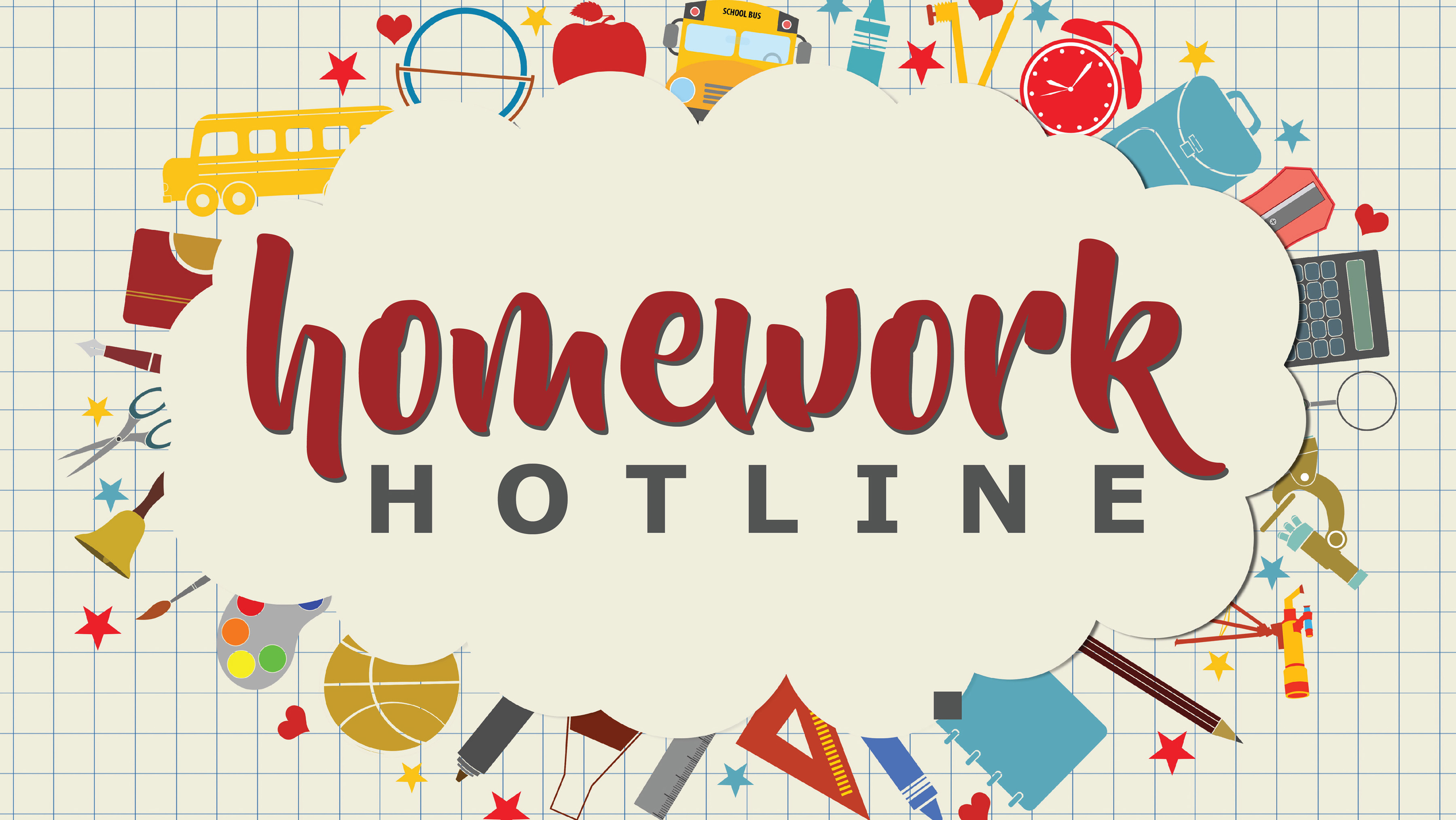 Homework helpline phone number