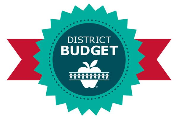 Link takes you to the district budget page