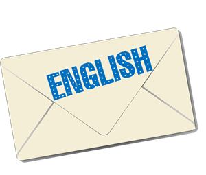 English newsletter icon