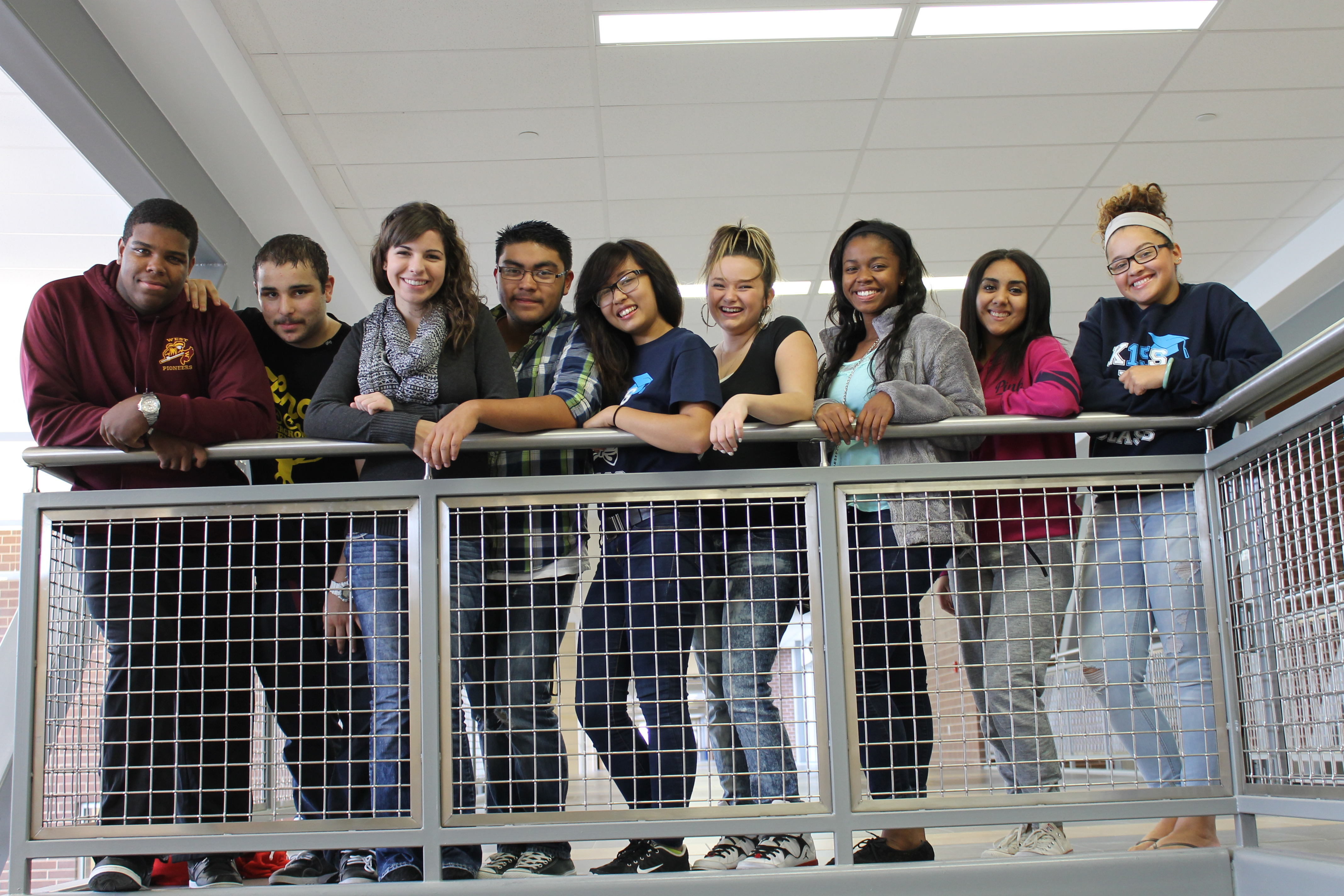Northeast Magnet students
